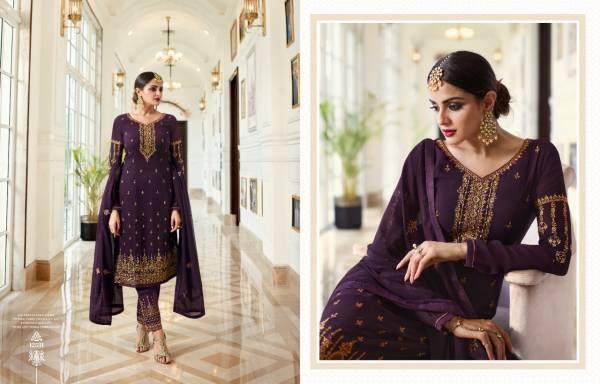 Meera Trendz Zisa 68 Georgette Fancy Festival Wear Salwar Suits Collection