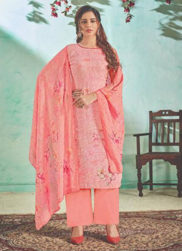 Riana Cotton With Heavy Embroidery And Pure Digital Printed Work Casual Wear Designer Saree Collection