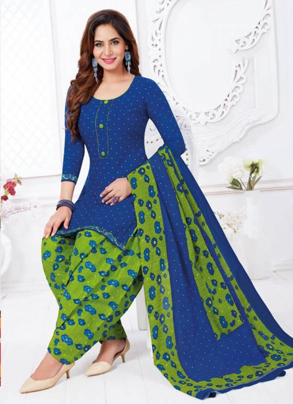 Baalar Padmavati Vol 2 Series 1305-1322 Printed Cotton Latest Daily Wear Readymade Patiyala Suits Collection