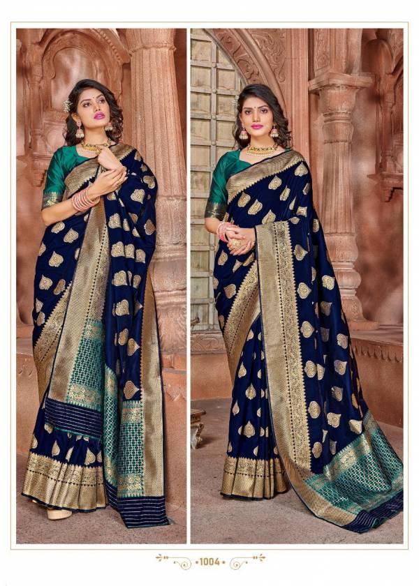 Rajyog Virasat Silk Soft Silk Weaving With Fancy Pallu Traditional Wear Sarees Collection