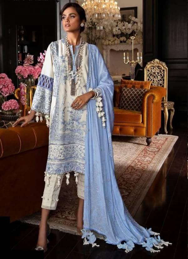 Megha Export Sanasafinaz Lawn cotton heavy embroidered Designer Pakistani Suits Collection