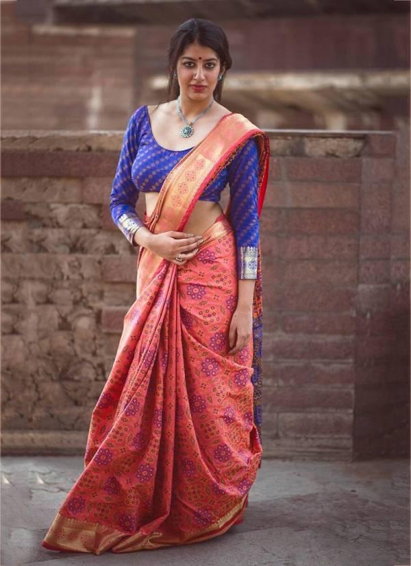 KVS Limboodi Series 803-810 Banarasi Silk Patola New Designer Festival Wear Sarees Collection