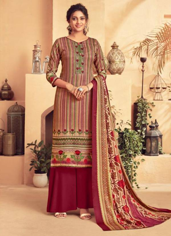Neha Fashion Tohfa Series 87001-87010 Pure Woolen Pashmina Digital Style Printed Casual Wear Salwar Suits Collection