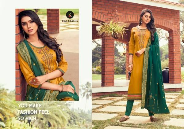 Kessi Kitkat Vol 3 Jam Silk Cotton Embroidery Work Regular Salwar Suit Collection