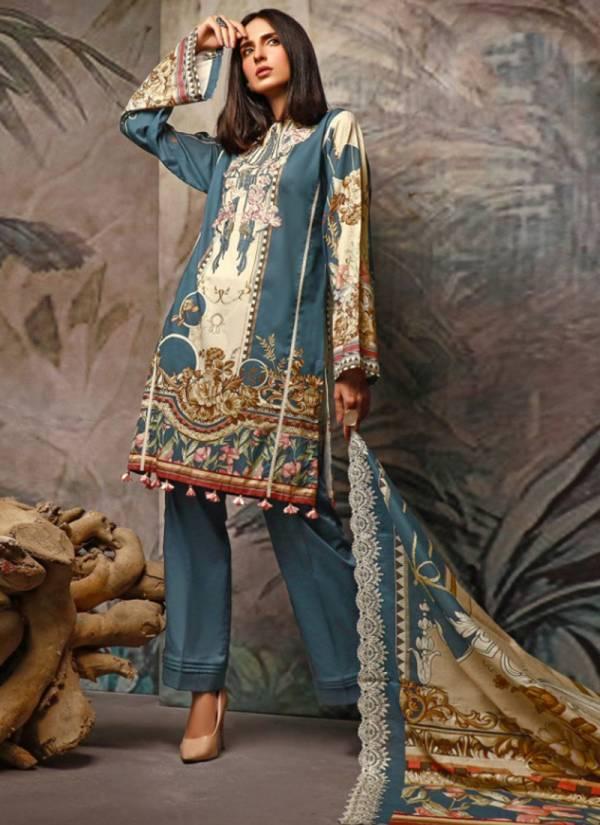 Kaara Suits M Print Vol 5 Series M5001-M5006 Pure Pashmina Digital Printed New Designer Pakistani Suits Collection
