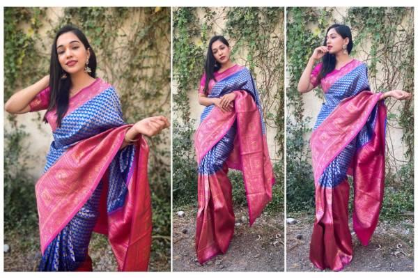 Redolence Aishwarya  Heavy Cotton Zari Worked Designer Wedding Wear Sarees Collection