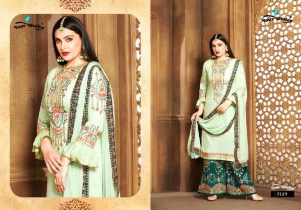 Your Choice Cotton Sarara Jaam silk Special Sharara Suits Collection