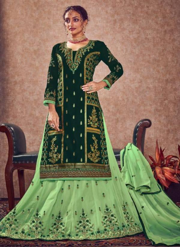 Aarav Trendz Miraya Vol 17 Series 318-322 Meenakari Jacquard With Embroidery WOrk & Hand Work Wedding Wear Suits Collection