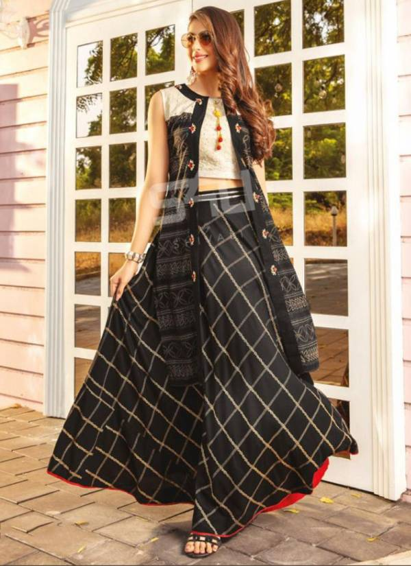 S4U Fusion Beats Vol 4 Series FB401-FB406 Rayon With Fancy Work Kurti With Palazzo Collection