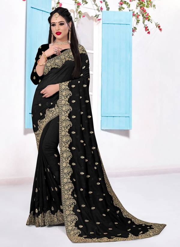 Nari Fashion Stunning Series 761-769 Two Tone Vichitra Silk With Heavy Zari Embroidery Work Party Wear Sarees Collection