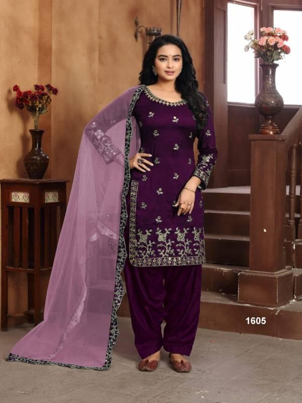 Twisha Aanaya Vol 116 Art Silk Ramzan Eid Special Patiyala Suits Collection