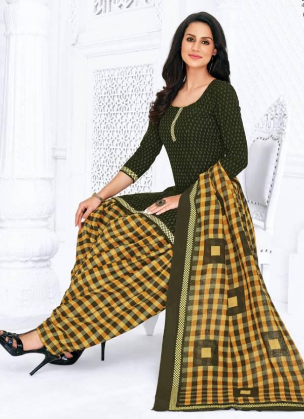 Pranjul Priyanka Unstitched Vol 6 Series 631-664 Pure Cotton Daily Wear Patiyala Suits Collection