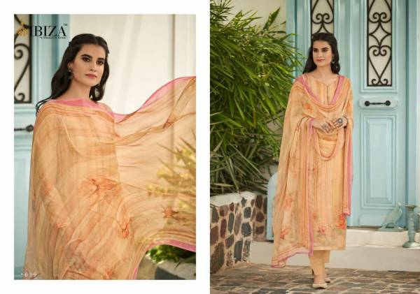 Ibiza Elise 3 Pure Muslin With Fancy Sequence Work Salwar Suits Collection
