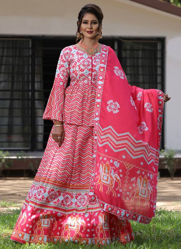 An Bazaar Palki Vol 2 Patalo Printed  With Mirror Work Wedding Wear Designer Lehenga Collection