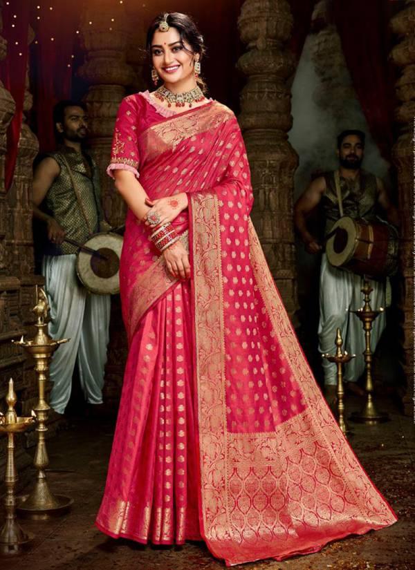 Lifestyle Sayali Dola Silk Heavy Designer Wedding Sarees Collection