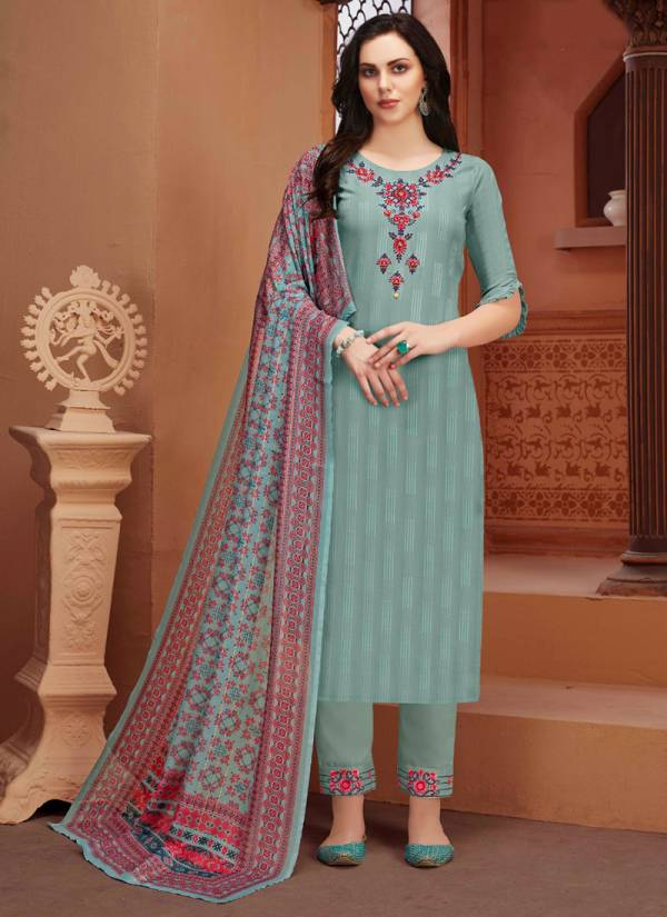 Lily Lali Manyata Fancy Viscose Pattern With Hand And Embroidery Work Ready Made Designer Salwar Suits Collection