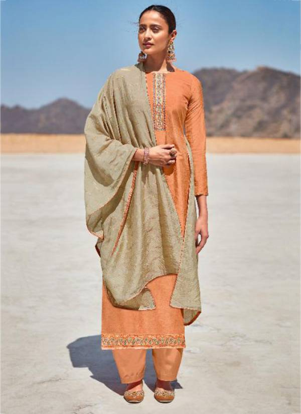 Naari Orin Naari Parampara Chinon Silk With Coding Work Festival Wear Designer Palazzo Suits Collection