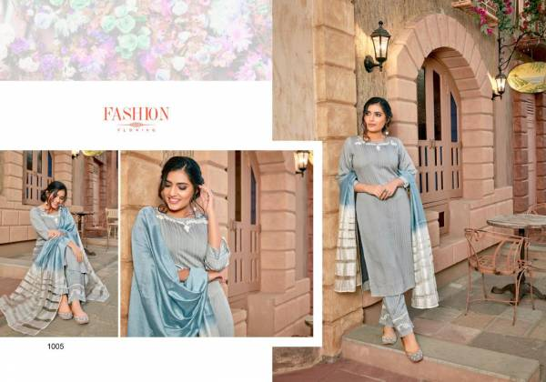 Sweety Fashion Wave Series 1001-1008 Silk Base Latest Designer Readymade Salwar Suits Collection
