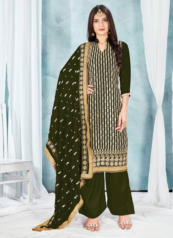 Kesari Exports Vellora Vol 28 Georgette Fancy Gota Patti Work Wedding Wear Designer Palazzo Suits Collection