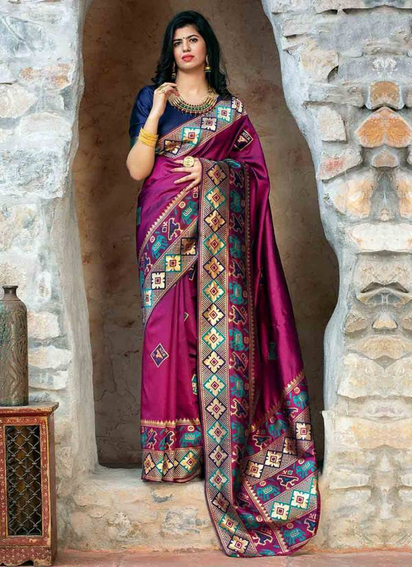 Shubh Vastra Patola Vol 2 Series 5111-5114 Patola Silk Exclusive Designer Festival Wear Gorgeous Look Sarees Collection