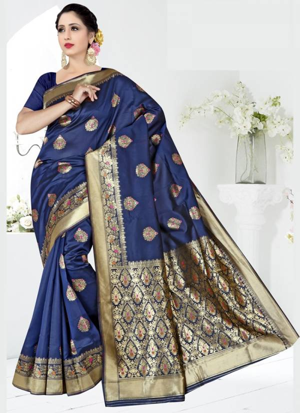 Vamika Fashion Eagle Silk Series 3278-3284 Soft Silk Latest Designer Festival Wear Sarees Collection
