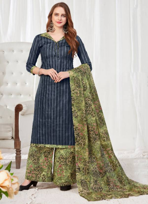 Js Priya Aliza Vol 4 Cotton Designer New Style Daily Wear Readymade Palazzo Suits Collection