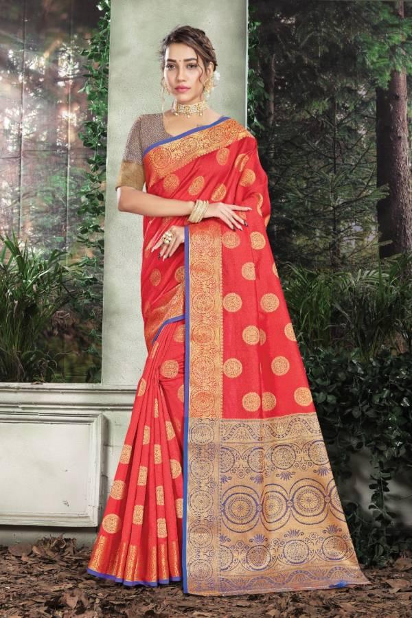 Sangam Karmala Silk Designer Sarees Collection