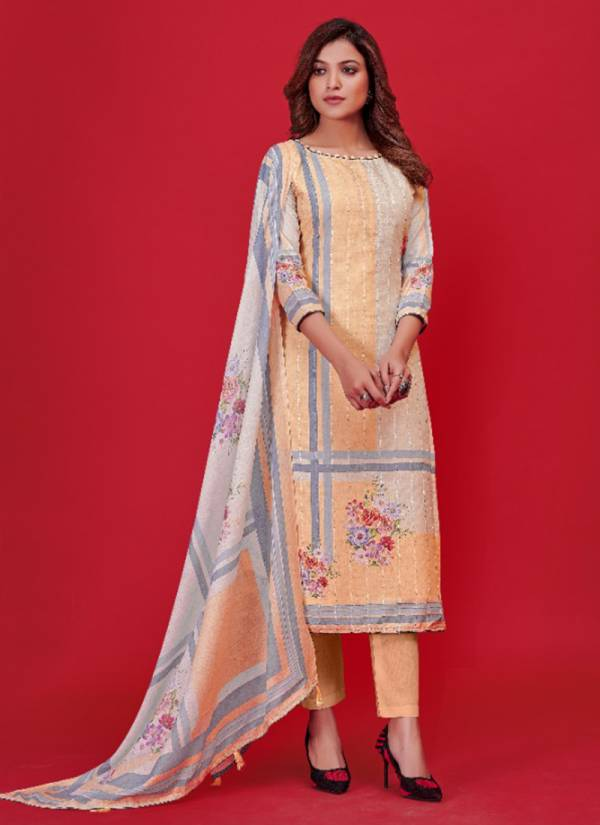Bipson Nazakat Vol 4 Embroidery Work Lawn Cotton Designer Suits Collection