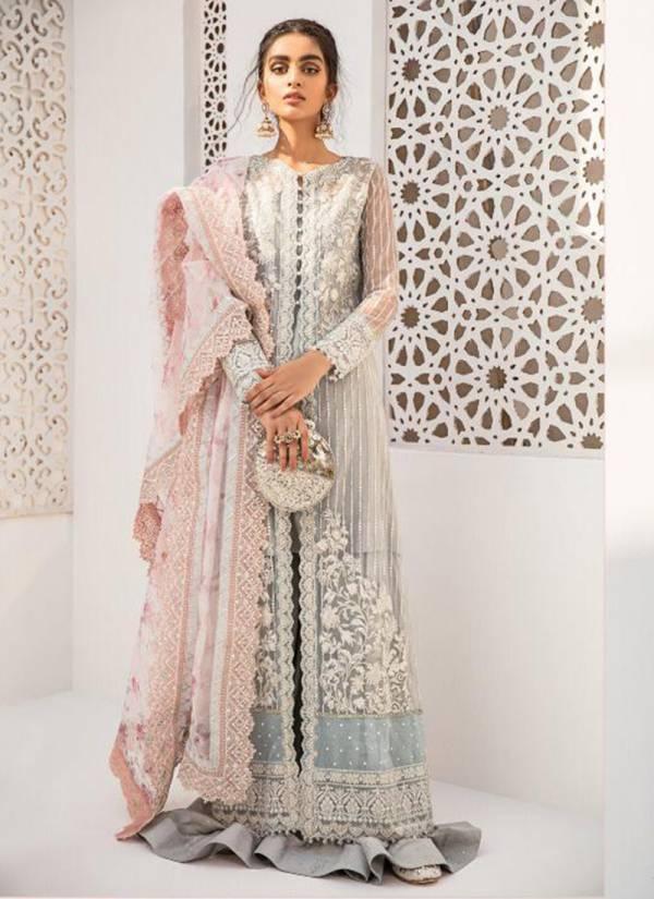 Shraddha Designer Qulamkar Series 601-604 Heavy Butterfly Net Latest Designer Embroidery Work With Heavy Diamond Work Pakistani Suits Collection