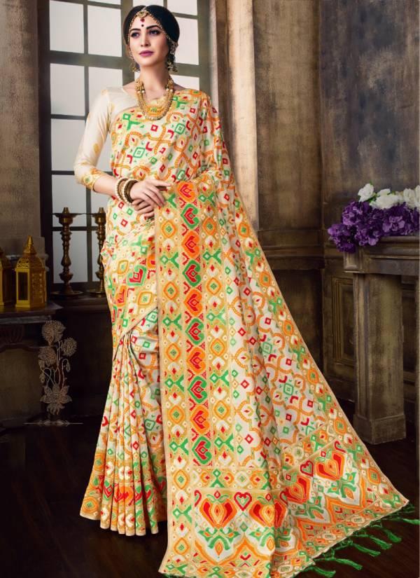 Vamika Bollywood Series 2222-2230 Art Silk Stylish Look Designer Traditional Wear Sarees Collection