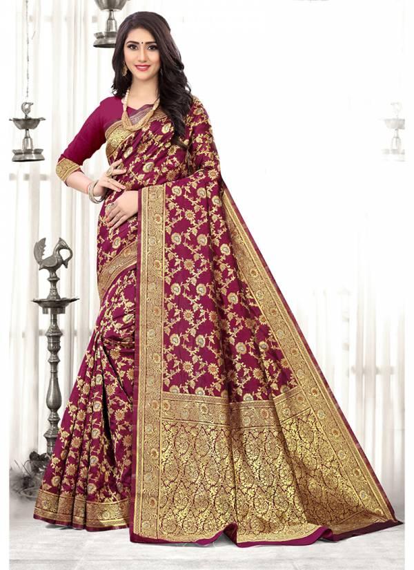 Kodas Ohio Series 8340A-8340D Silk Designer Traditional Wear Fancy Sarees Collection