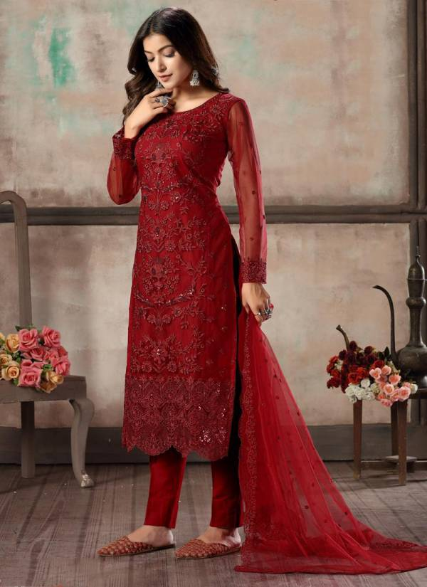 Twisha Vaani Vol 1 Series 11-14 Net With Heavy Tone Thread & Sequence Work Festival Wear Suits Collection