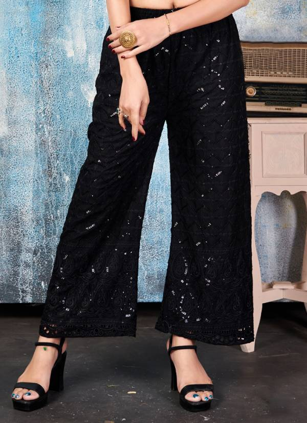 Rung Premium Palazzo Vol 2 Rayon With Heavy Chicken Sequence Work Palazzo Collection