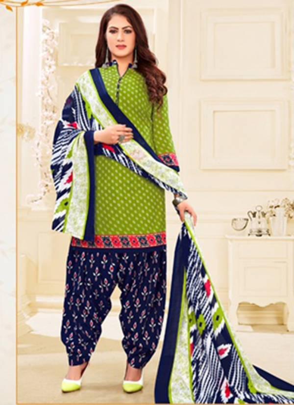 SS Nayra Vol 3 Cotton Indo Patiyala Style Casual Wear Readymade Punjabi Patiyala Suits Collection
