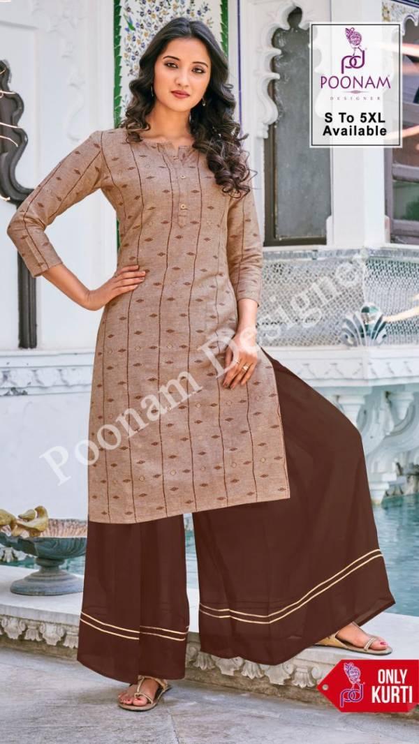 Poonam Designer Print House Khadi cotton Digital Printed Kurtis Collection