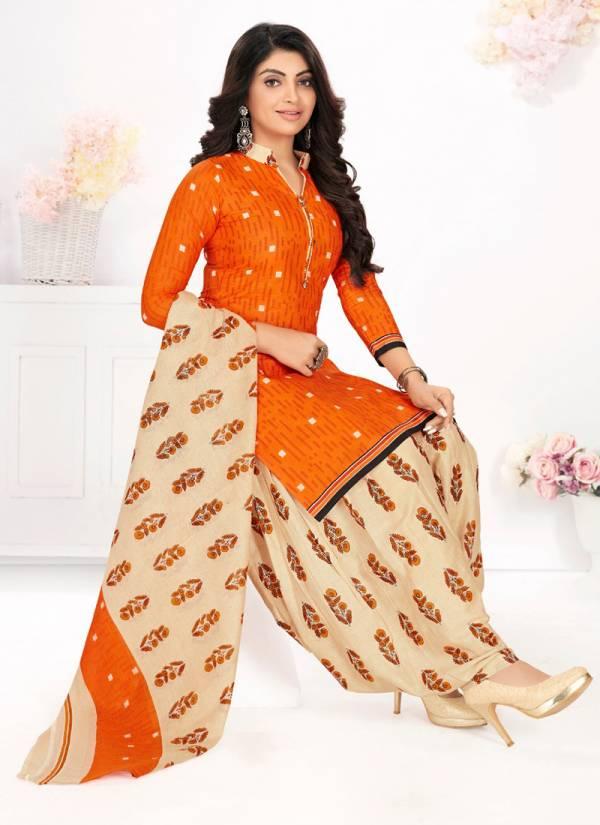 Trimurti Textile Titli Vol 6 Cotton Readymade Trading Patiyala Suit collection
