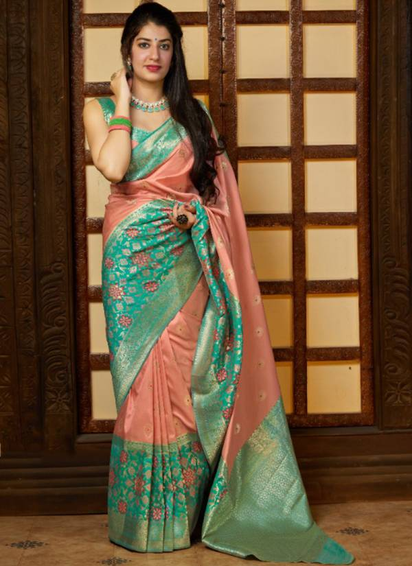 Manjubaa Latest Premium Collection Series 4019-4024 Traditional Wear Silk Diwali Special Sarees Collection