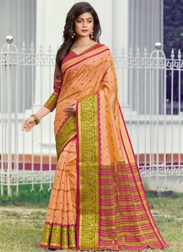 Sangam Prints Maskali Handloom Silk With Rich Pallu Fancy Designer Sarees Collection