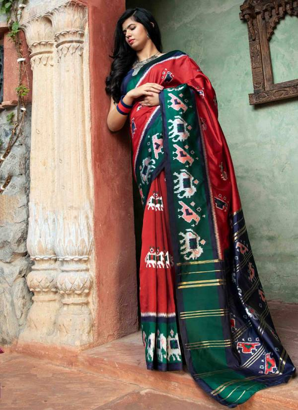 Shubh Vastra Patola Vol 1 Series 5101-5104 Silk Patola Exclusive Designer Festival Wear Sarees Collection For Women