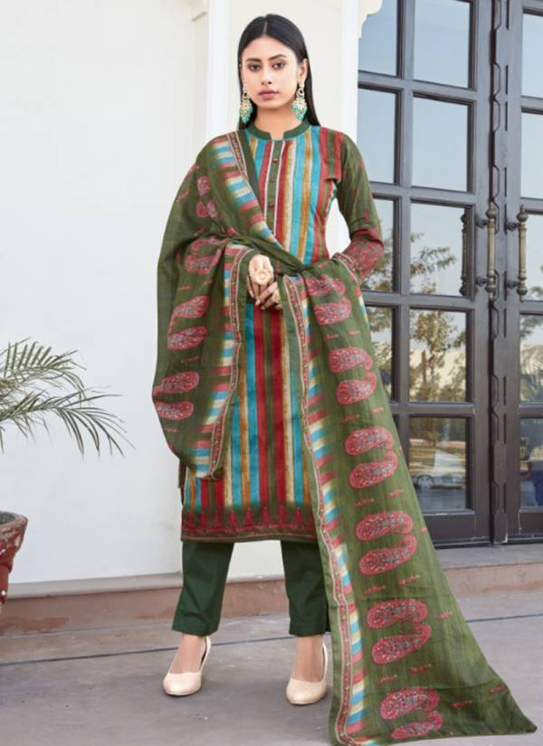 Bipson Kaira Satin Cotton Printed With Stylish Work Designer Daily Wear Salwar Suits Collection