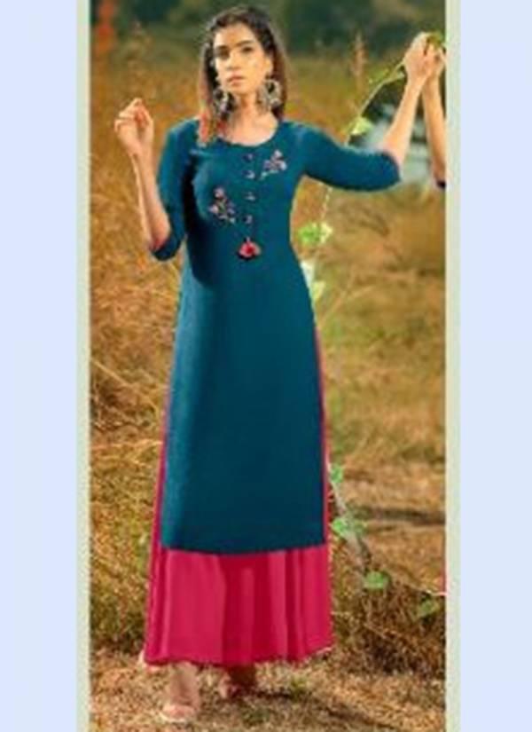 Psyna Poshak Vol 8 Series 8001-8010 Rayon Slub Fancy Festival Wear Kurti Collection