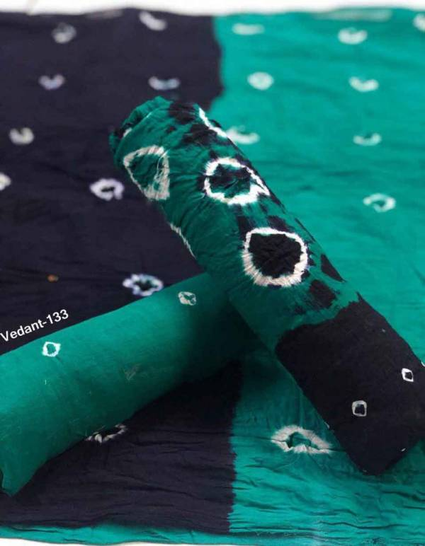 Glam Elegance Vedant Series 131-139 Cotton Bandhni Print Casual Wear Designer Non Catalog Salwar Suits Collection
