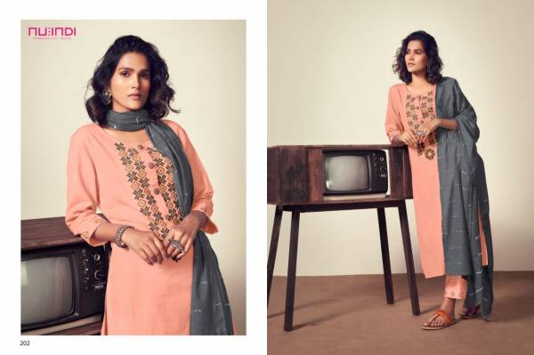 Nitara  Alicia Pure Cotton Embroidery Work Festival Wear Readymade Salwar Suits Collection