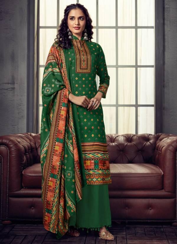 Zulfat Designer Suits Winter Breeze Vol 3 Series 223-001 - 223-010 Latest Exclusive Pure Pashmina Digital Style Fancy Print Suits Collection