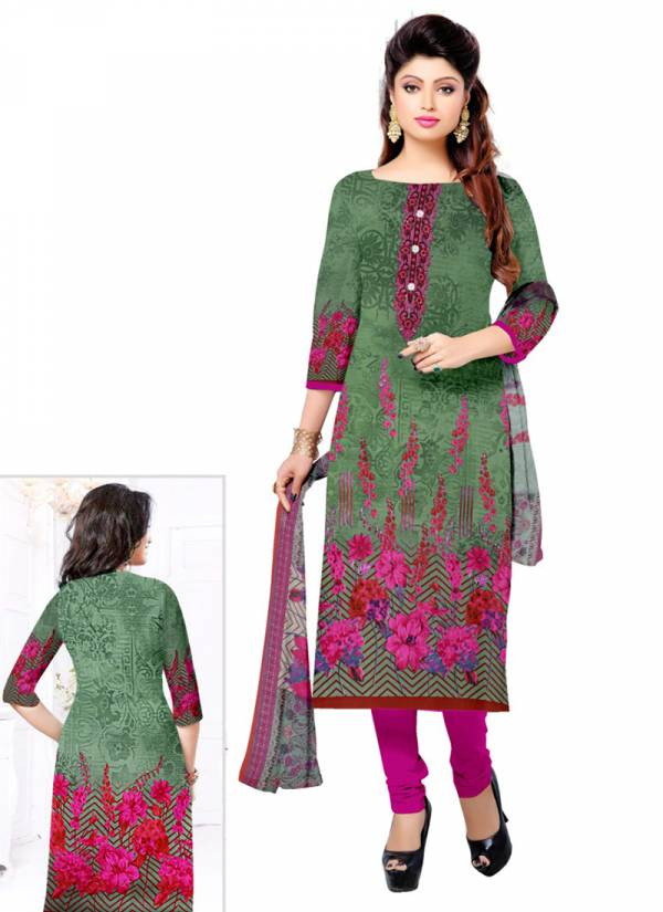 Ruhi Fashion Series RF3001-RF3008 Indo Cotton Printed New Designer Daily Wear Fancy Churidar Suits Collection