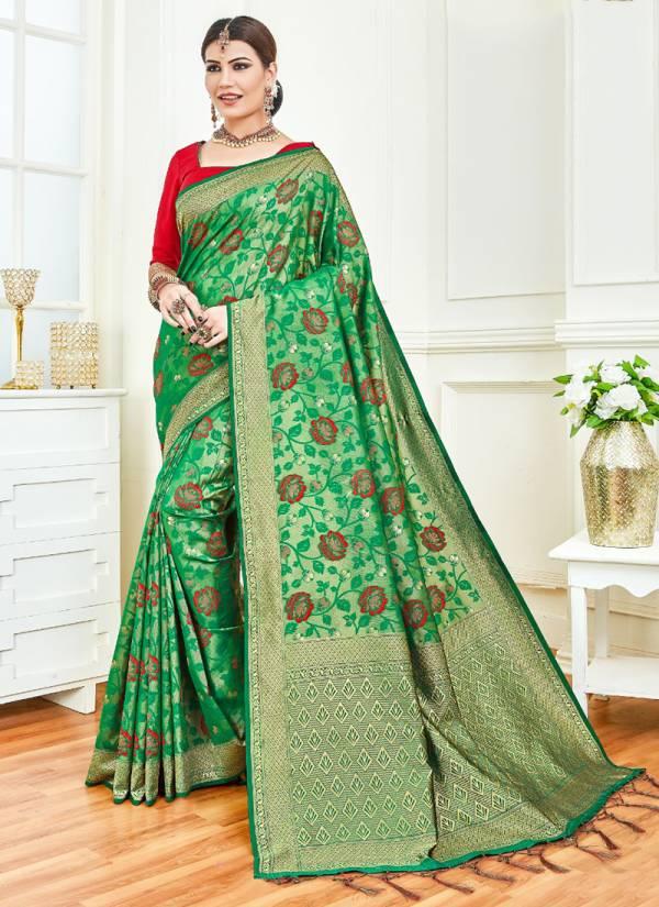 Vamika Butter Fly Series 1001-1010 Latest Designer Wedding Wear Art Silk Sarees Collection
