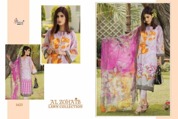 Shree Fab Al Zohaib Pure Cotton Pakistani Salwar Suits Collection