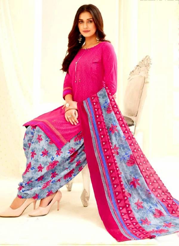 Bandhan Suits Priyalaxmi Vol 3 Series 3001-3015 Pure Cotton Printed Patiyala Style Regular Wear Readymade Salwar Suits Collection
