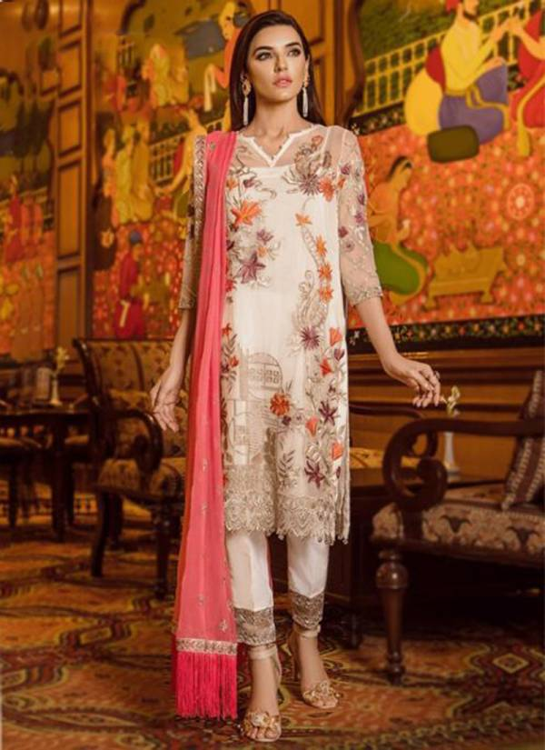 Khayyira Series 1031-1074 Georgette With Heavy Embroidery Work New Designer Wedding Special Pakistani Suits Collection