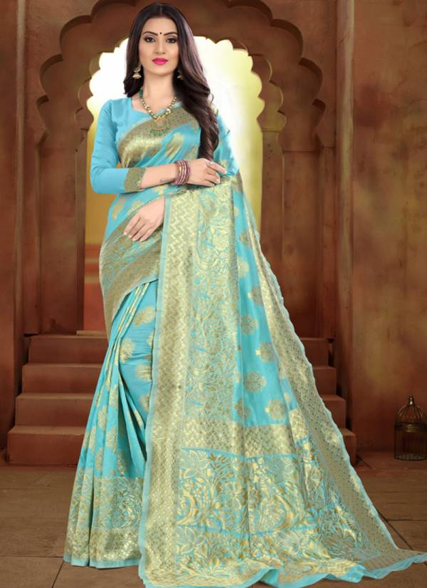 Kodas Taal Series 8113A-8113D Handloom Jacquard Silk Traditional Wear New Designer Sarees Collection